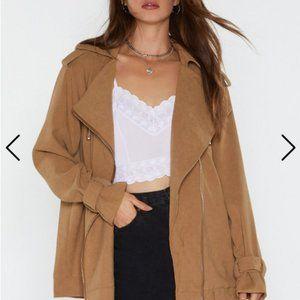 Nasty Gal Utility Oversized Jacket